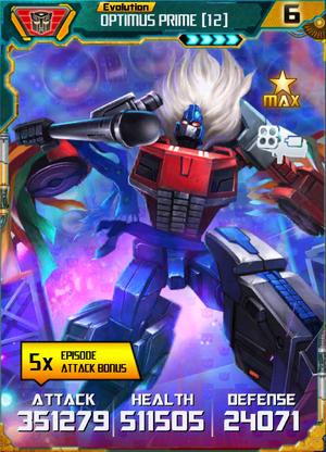 Optimus Prime 12 E4