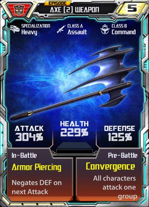 Axe 2 Weapon