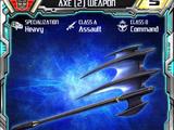 Axe (2) Weapon
