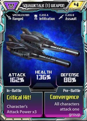 Squawktalk (1) Weapon