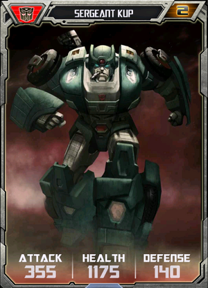 (Autobots) Sergeant Kup - Robot