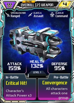 Overkill 2 Weapon