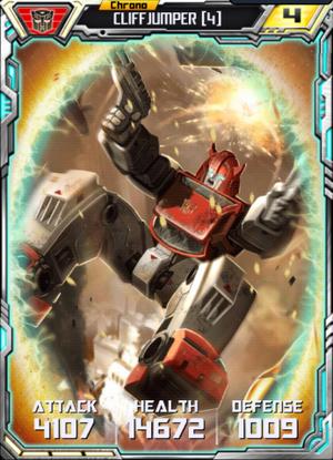 Cliffjumper 4 Robot