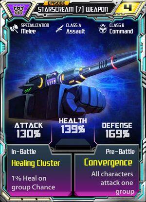 Starscream 7 Weapon