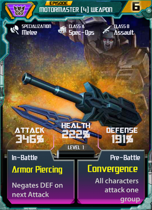 Motormaster 4 Weapon