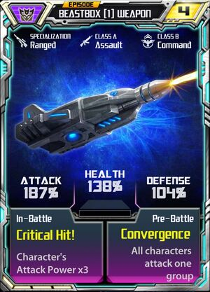 Beastbox 1 Weapon