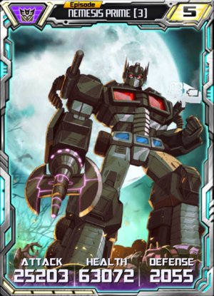 Nemesis Prime 3 Robot