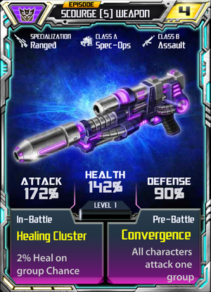 Scourge 5 Weapon