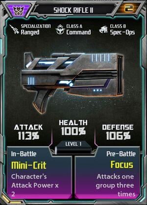 Shock Rifle II