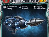 Autobot Jazz (1) Weapon