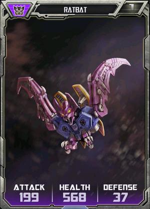 (Decepticons) Ratbat - Robot