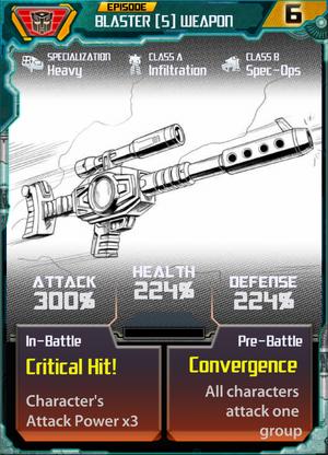 Blaster 5 Weapon