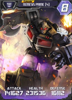 Nemesis Prime 4 Robot