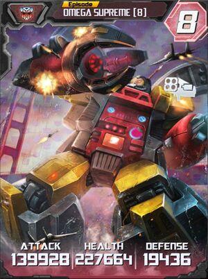 Omega Supreme 8 Robot