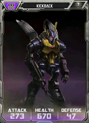 (Decepticons) Kickback - Robot