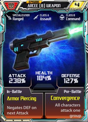 Arcee 8 Weapon