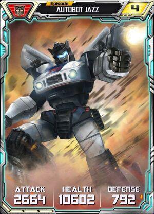Autobot Jazz 5 Robot