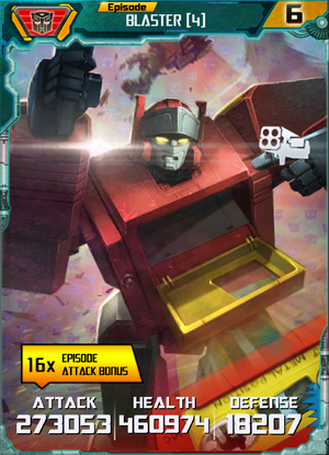 Blaster 4 Robot