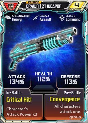 Brawn 2 Weapon