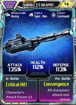 Swindle (1) Weapon