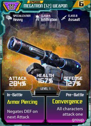 Megatron 12 Weapon
