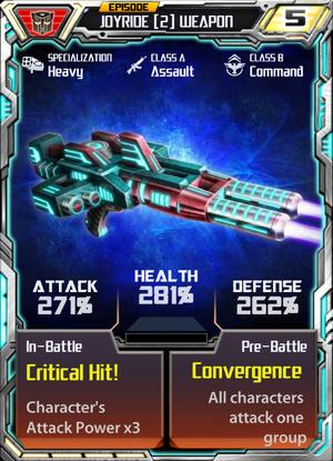 Joyride 2 Weapon