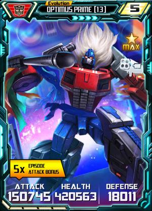 Optimus Prime 13 E4