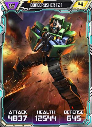 Bonecrusher 2 Robot