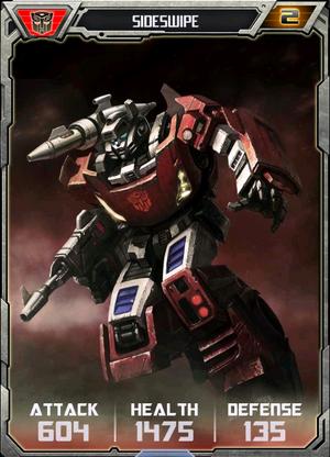 (Autobots) Sideswipe - Robot (2)