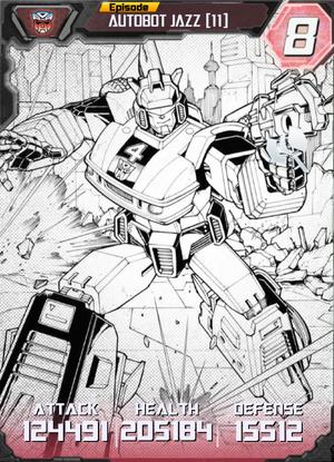 Autobot Jazz 11 Robot