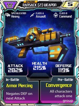 Ransack 2 Weapon