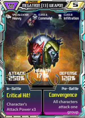 Megatron 13 Weapon