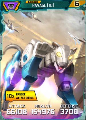 Ravage 10 Robot