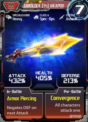 Grimlock 14 Weapon