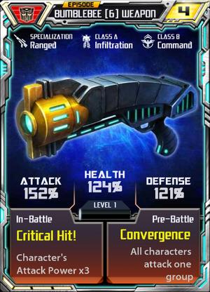 Bumblebee 6 Weapon