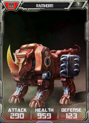 (Autobots) Ramhorn - Robot