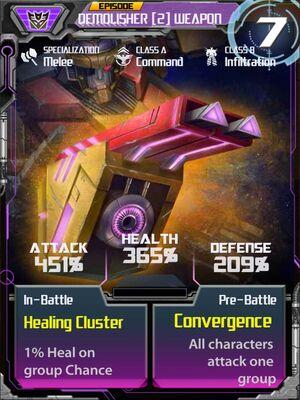 Demolisher 2 Weapon