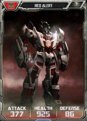 (Autobots) Red Alert - Robot
