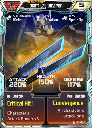 Drift 2 Weapon