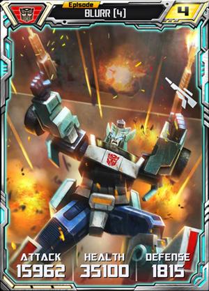 Blurr 4 Robot