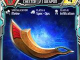 Cheetor (2) Weapon