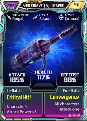 Shockwave (6) Weapon