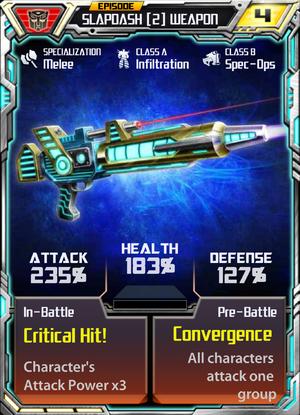 Slapdash 2 Weapon