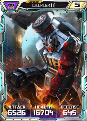 Wildrider 1 Robot