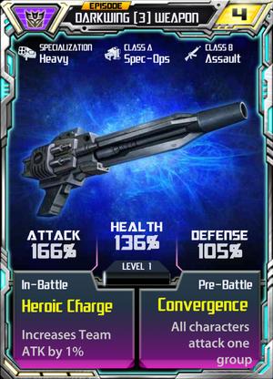 Darkwing 3 Weapon