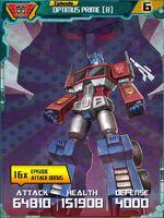Optimus Prime 8 Robot