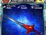 Star Saber (1) Weapon