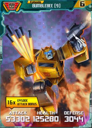 Bumblebee 9 Robot