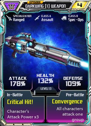 Darkwing 1 Weapon