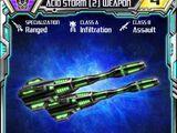 Acid Storm (2) Weapon
